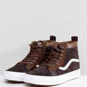 Vans Sk8-Hi MTE Sneakers in Brown